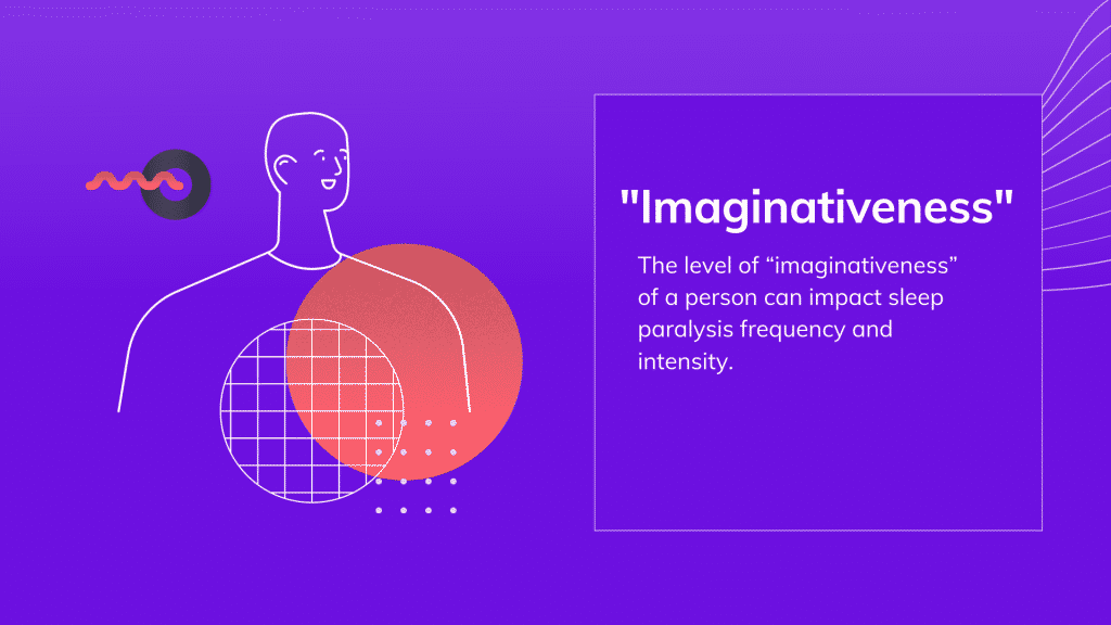 "sleep terror- ""imaginativeness"" and beliefs are some triggers"