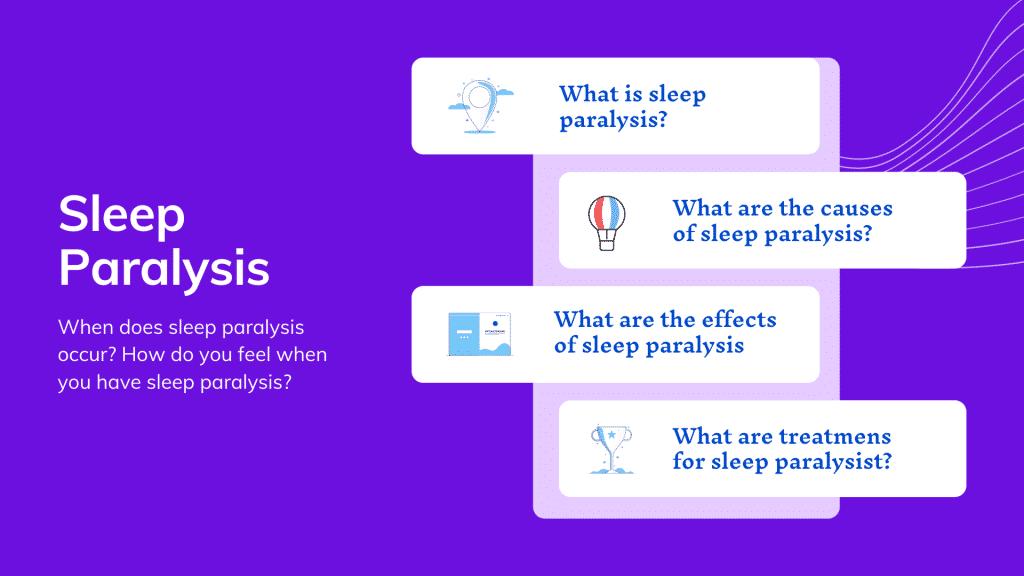 Sleep paralysis: everything you need to know